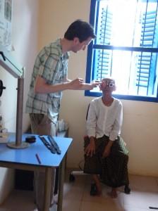 Jeroen eye specialist