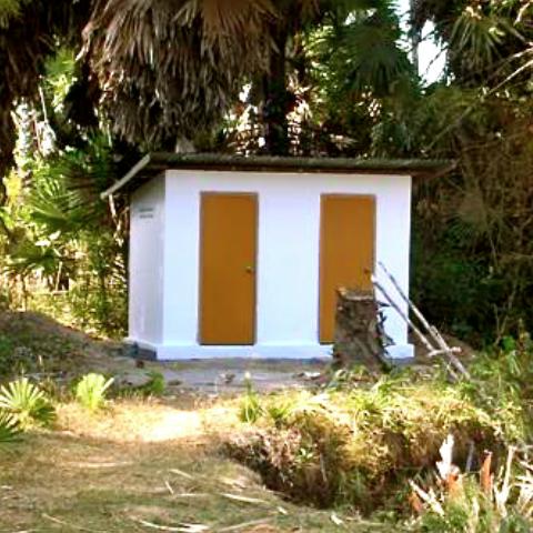Toilet school Chhuk