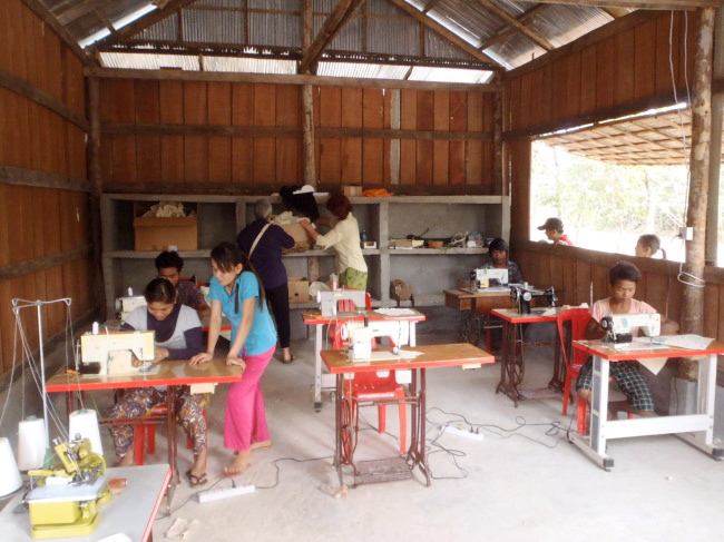 Ons Sewing Project in Takeo is gestart