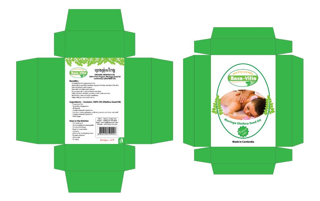 Moringa Seed Oil Package