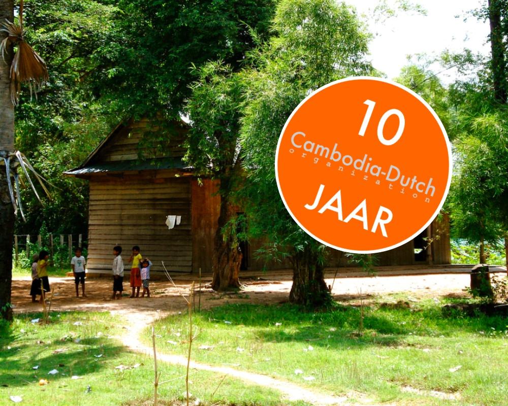 Stichting Cambodia-Dutch bestaat 10 jaar!