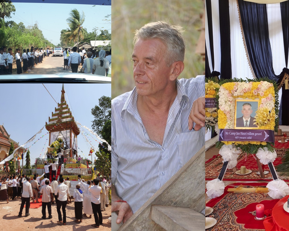 In memoriam Jan Camp, oprichter Cambodia-Dutch Organization